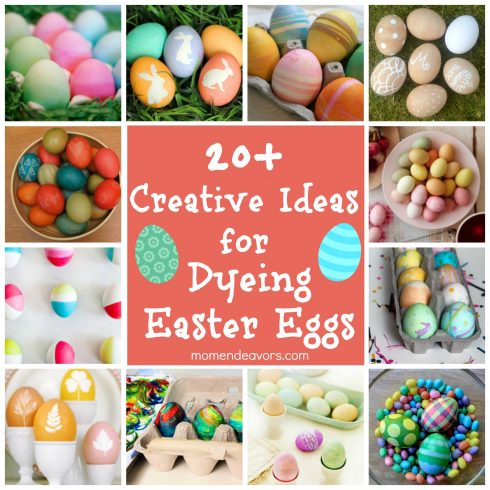 20 Creative Ideas for Dying Easter Eggs