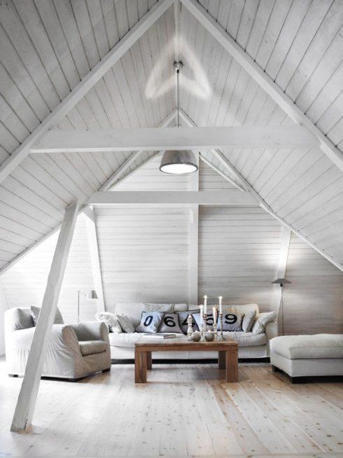 Attic Interior Decor 1