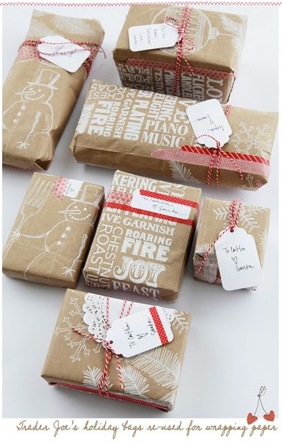 Brown Bag Wrapping Paper 2