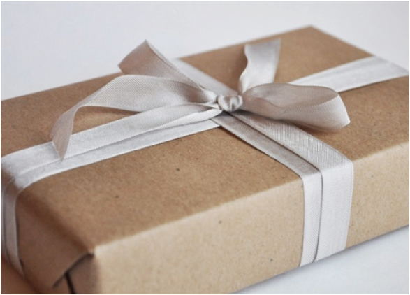 Brown Bag Wrapping Paper