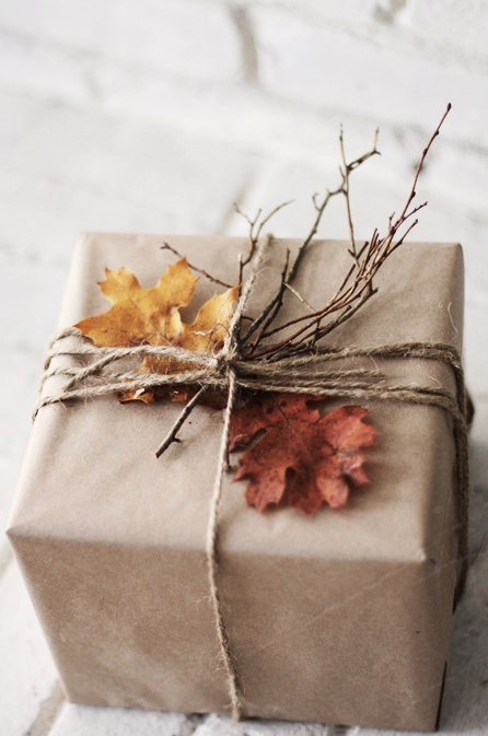 Brown Wrapping Paper Idea