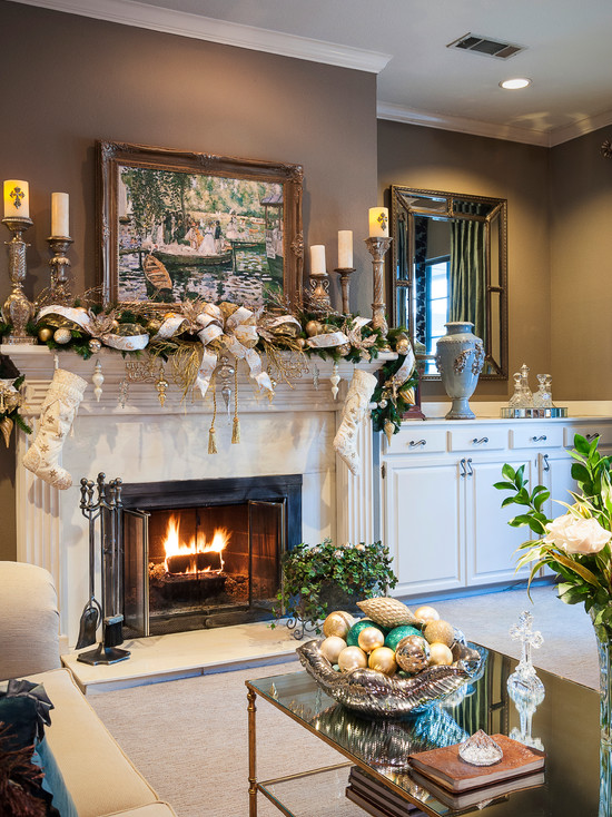 Christmas Decorating for Livingroom