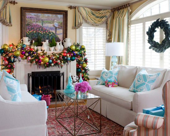 Christmas Decoration with Bold Colours