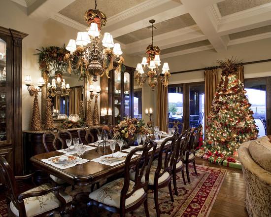 Christmas Design Idea for Dining Room