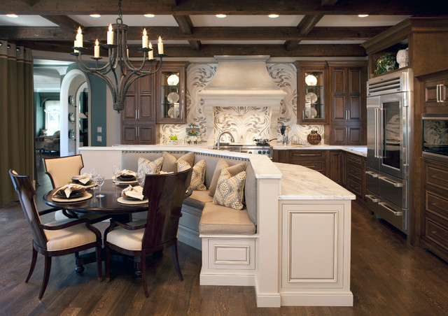 Cool Traditional Kitchen Idea