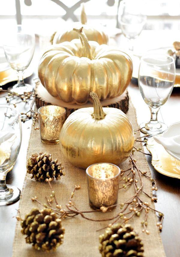 Fall Harvest Table Decor