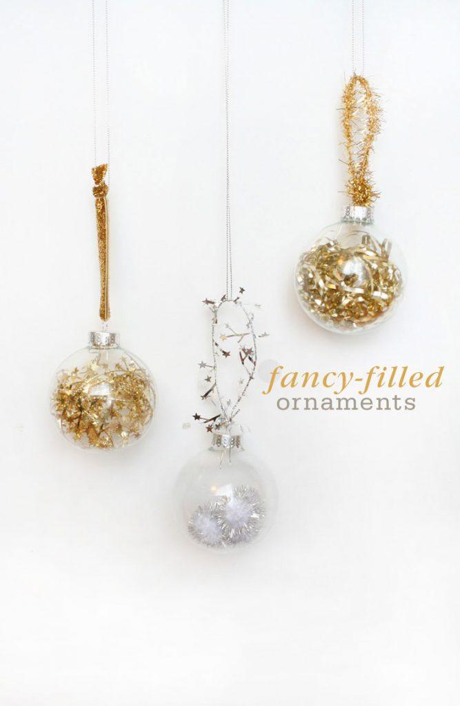 Fancy Filled Ornaments