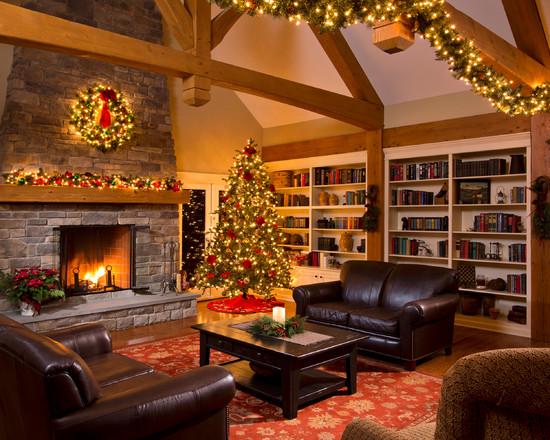 Living Room Design Idea for Christmas