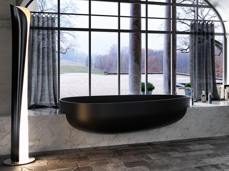 Modern Bathtub Window