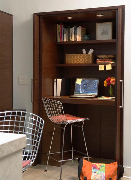 Modern and Elegant Home Office Design Idea