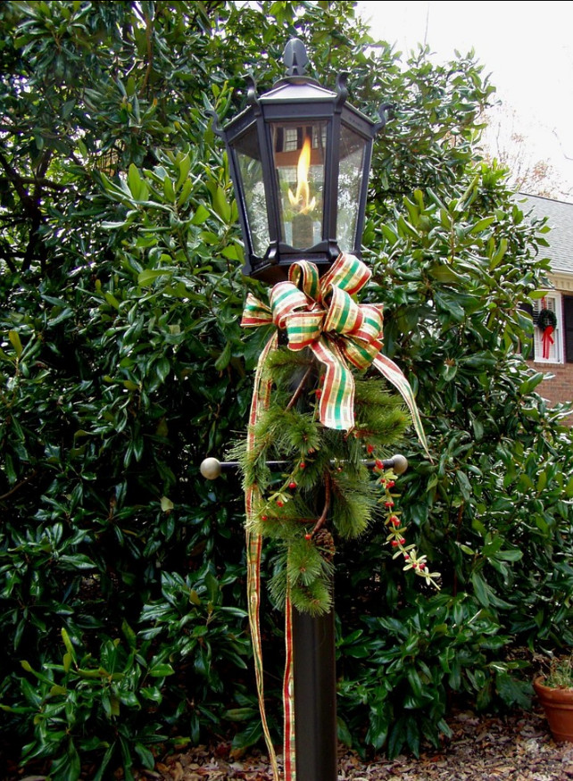 Outdoor Light Christmas Design Idea