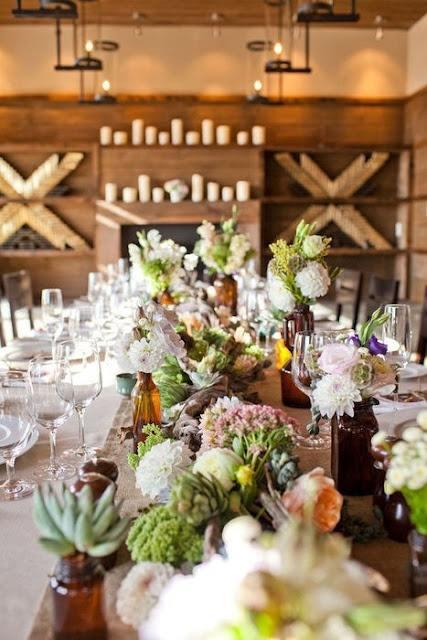 Thanksgiving Decor Table