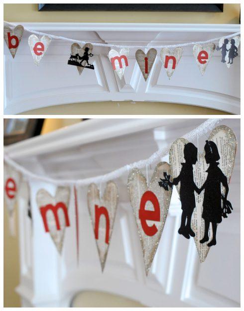 Valentine's Be Mine Banner