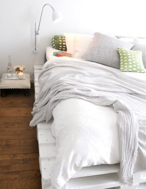 Wooden Bed Pallet